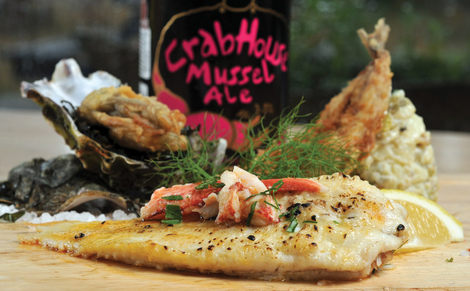 Sand Sole, Oysters and Mackerel Recipe